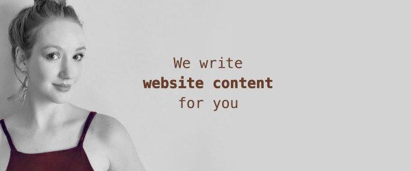 , We Write Website Content For You